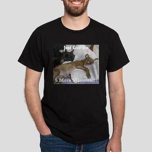 I Hate Mornings Dark T-Shirt