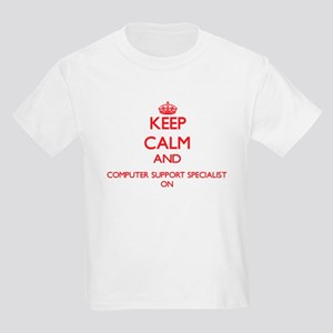 Keep Calm and Computer Support Specialist T-Shirt