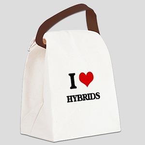 I Love Hybrids Canvas Lunch Bag