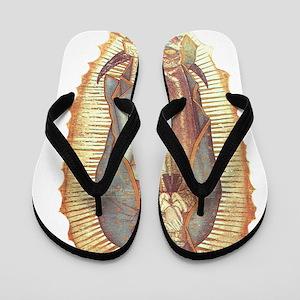 Virgen_de_guadalupe Flip Flops