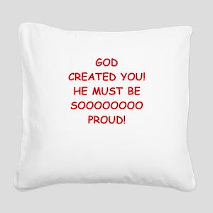 pride Square Canvas Pillow