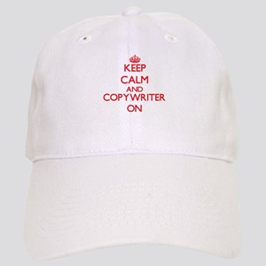 Keep Calm and Copywriter ON Cap