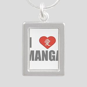 I Love Manga Necklaces