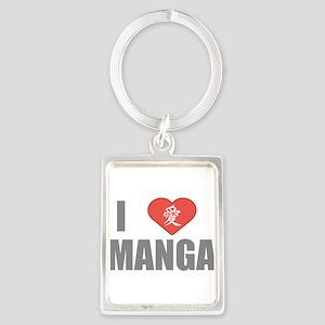 I Love Manga Keychains
