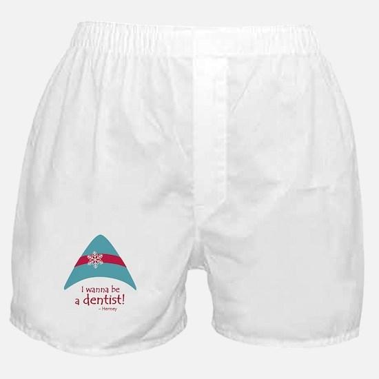I wanna be a dentist! Boxer Shorts