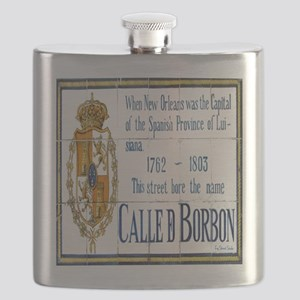Rue Bourbon Flask