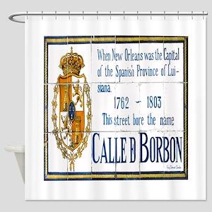Rue Bourbon Shower Curtain