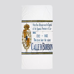 Rue Bourbon Beach Towel
