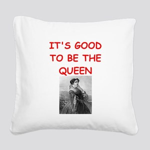 queen Square Canvas Pillow