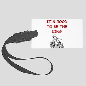 king Luggage Tag