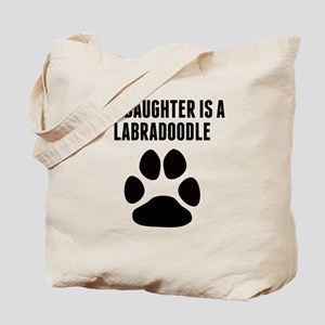 My Daughter Is A Labradoodle Tote Bag