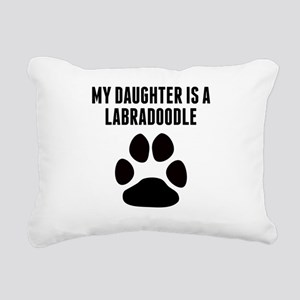My Daughter Is A Labradoodle Rectangular Canvas Pi