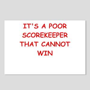 scorekeeper Postcards (Package of 8)