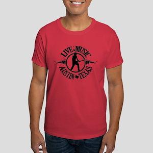 Live Music Austin Texas Dark T-Shirt
