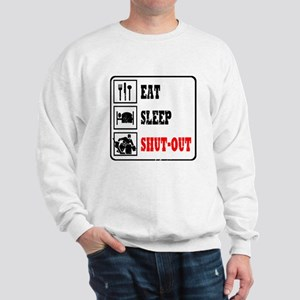 Eat Sleep Hockey -Goalie Sweatshirt