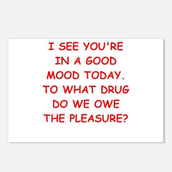 good mood Postcards (Package of 8)