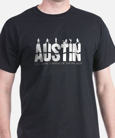 Austin Live Music Band T-Shirt
