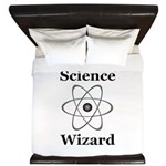 Science Wizard King Duvet