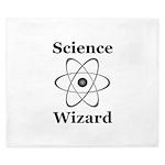 Science Wizard King Duvet