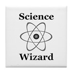 Science Wizard Tile Coaster