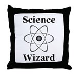 Science Wizard Throw Pillow