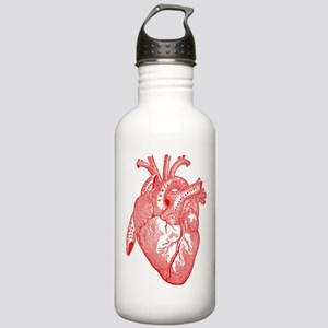 Anatomical Heart - Red Stainless Water Bottle 1.0L