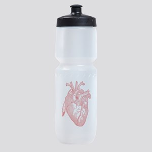Anatomical Heart - Red Sports Bottle