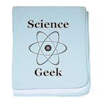 Science Geek baby blanket