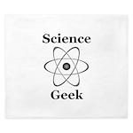 Science Geek King Duvet