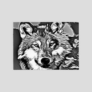 Wolf 2014-0802 5'x7'Area Rug