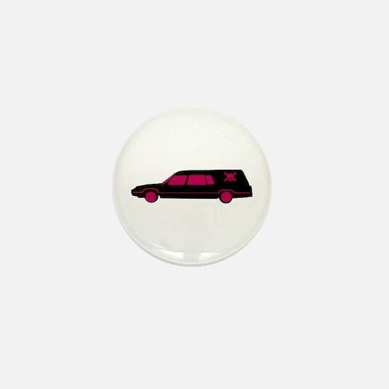 Hearse Mini Button