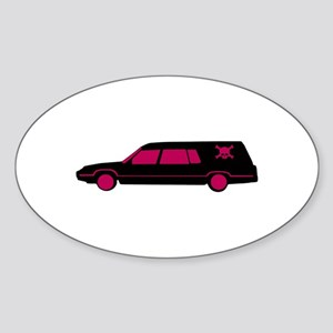 Hearse Sticker
