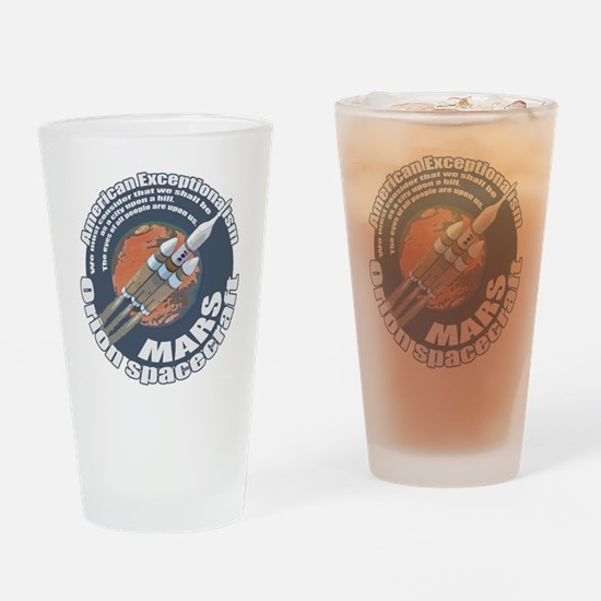 Orion Spacecraft 2 Drinking Glass