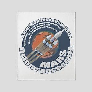 Orion Spacecraft 2 Throw Blanket
