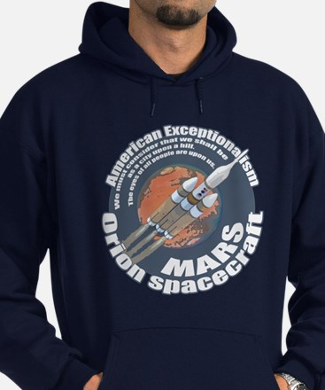 Orion Spacecraft 2 Hoodie (dark)