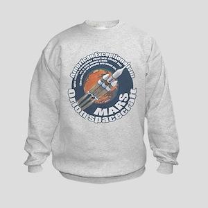 Orion Spacecraft 2 Kids Sweatshirt
