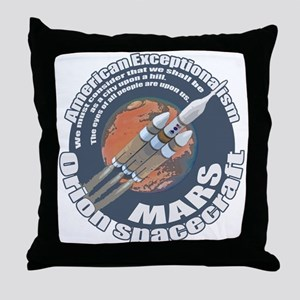 Orion Spacecraft 2 Throw Pillow