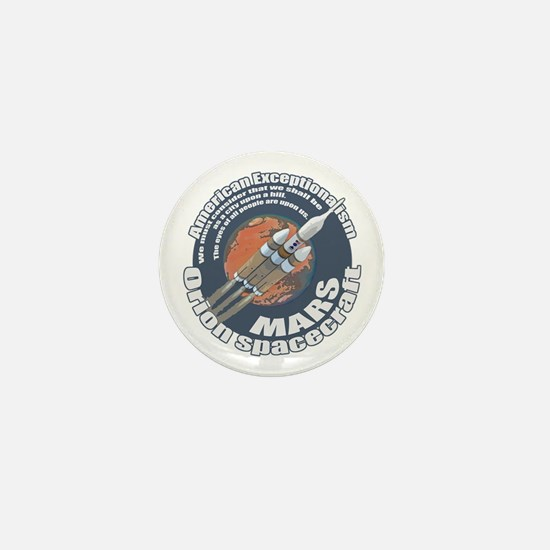 Orion Spacecraft 2 Mini Button