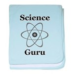 Science Guru baby blanket