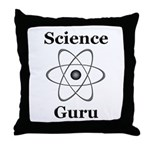Science Guru Throw Pillow