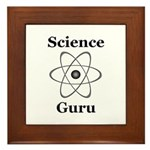 Science Guru Framed Tile