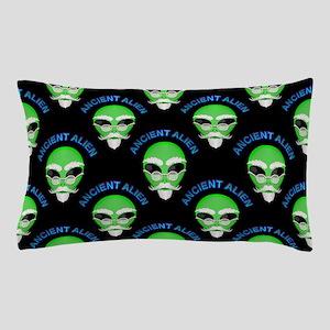 Ancient Alien Head Pattern Pillow Case