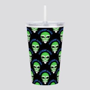 Ancient Alien Head Pat Acrylic Double-wall Tumbler