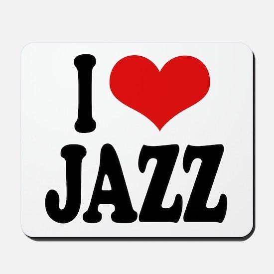 I Love Jazz Mousepad