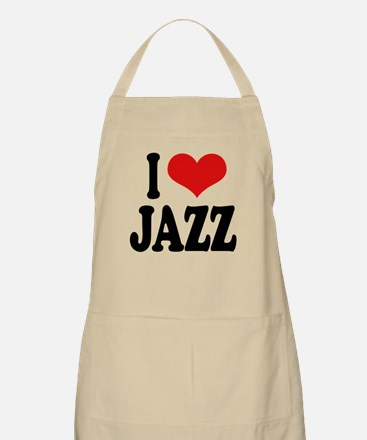 I Love Jazz BBQ Apron