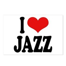 I Love Jazz Postcards (Package of 8)