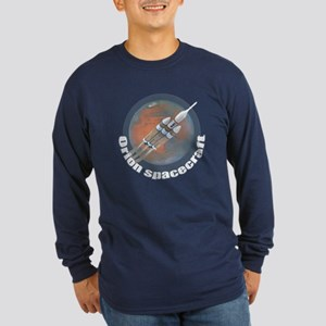 Orion Spacecraft 3 Long Sleeve Dark T-Shirt