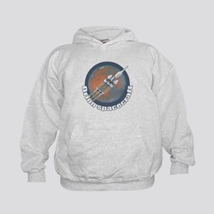Orion Spacecraft 3 Kids Hoodie