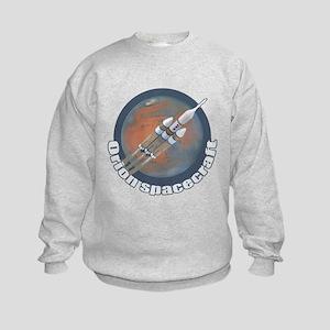 Orion Spacecraft 3 Kids Sweatshirt