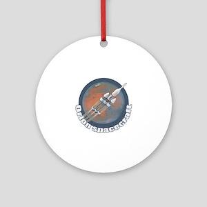 Orion Spacecraft 3 Ornament (Round)